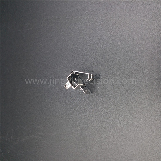 spring steel contact with plating