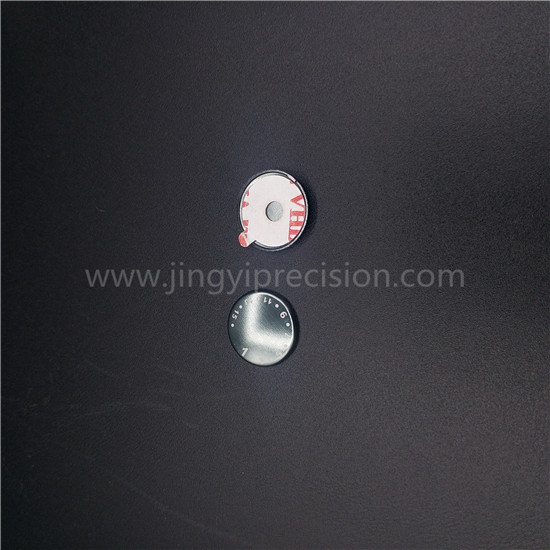 deep draw stainless steel parts with back sticker
