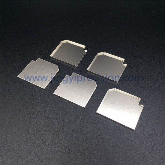 Tin plated PCB EMI shielding cover