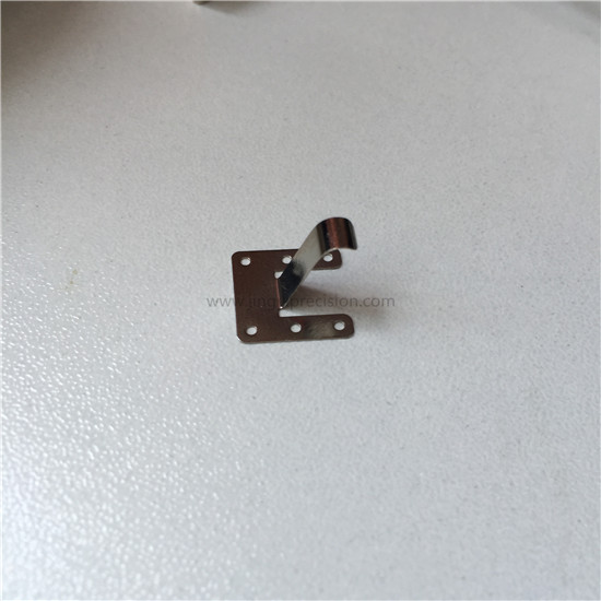 metal spring contact with nickel silver