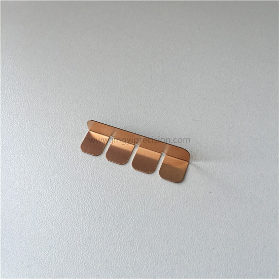 phosphor copper BeCu Brass stamping contact part