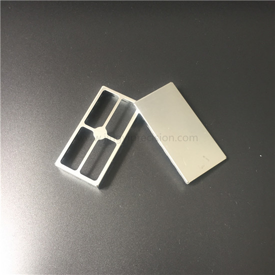 Tin plated RF shield cover and frame