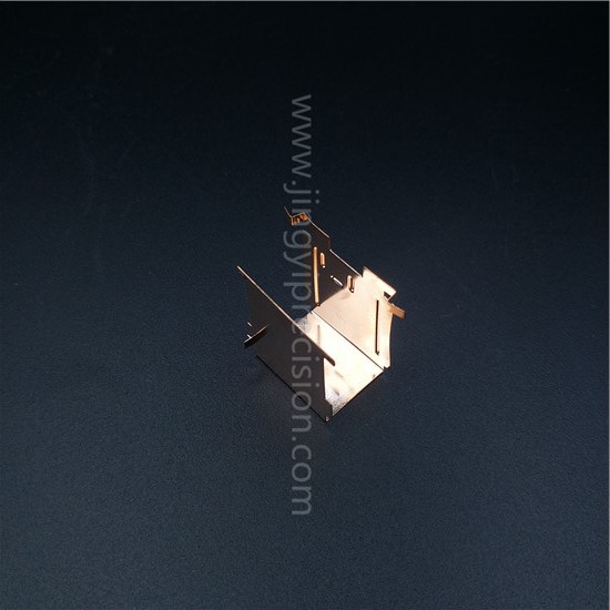beryllium copper leaf spring contact