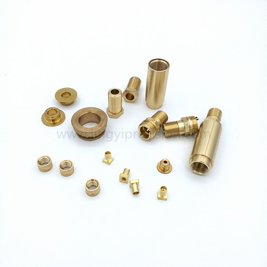 CNC turning milling Brass lathe parts